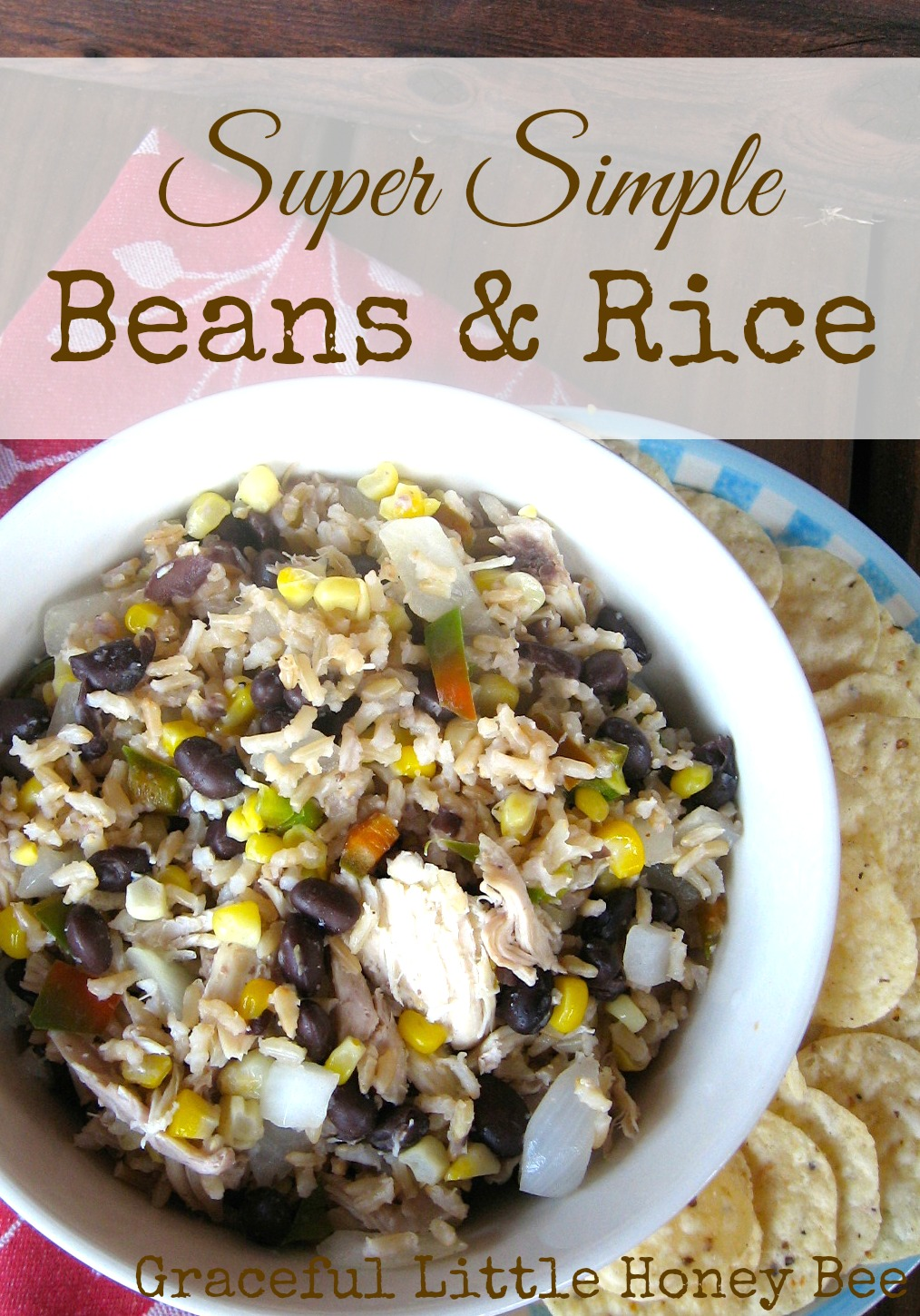 Super Simple Beans And Rice Graceful Little Honey Bee