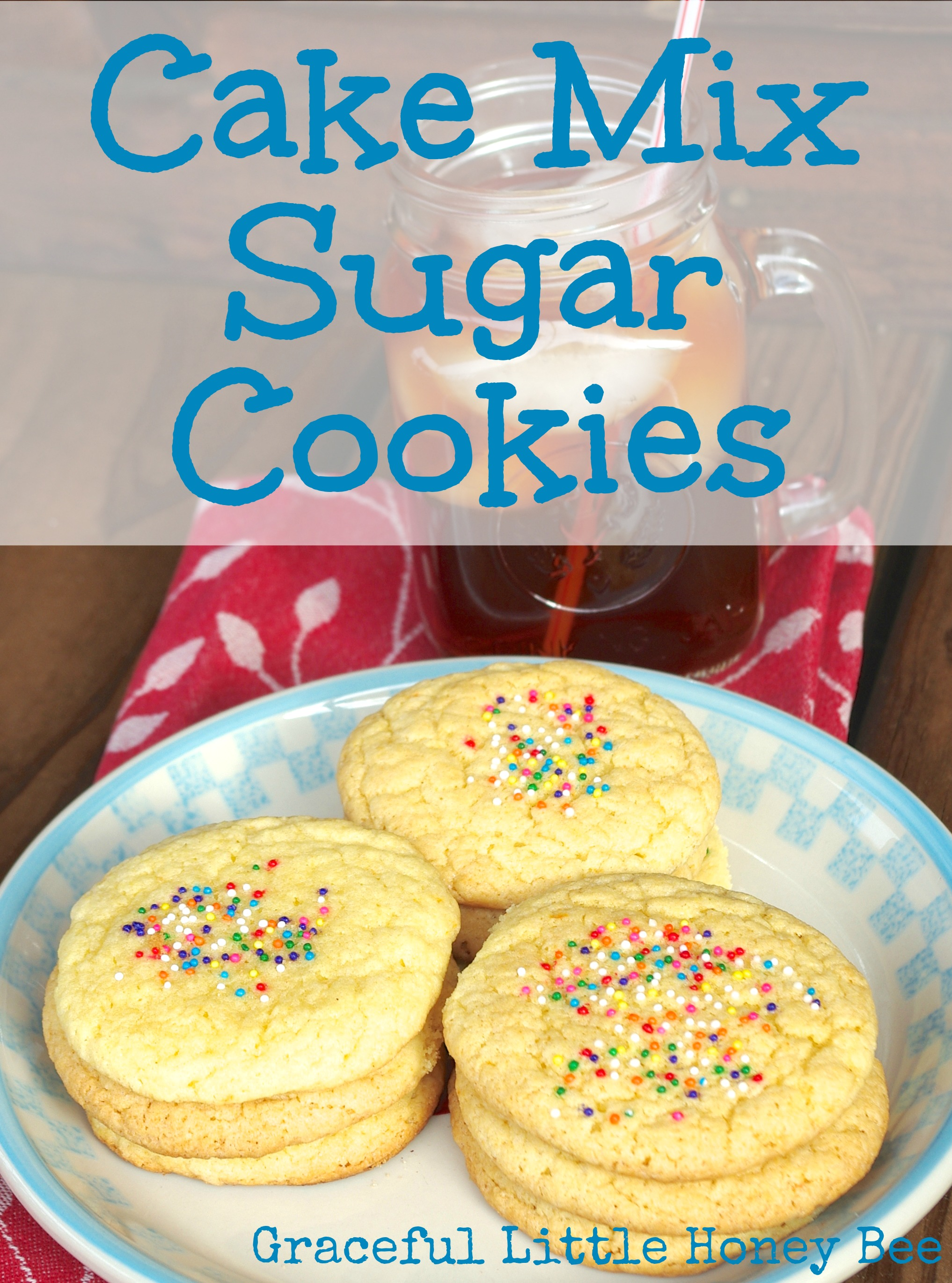 Super Easy Cookies Cake Mix