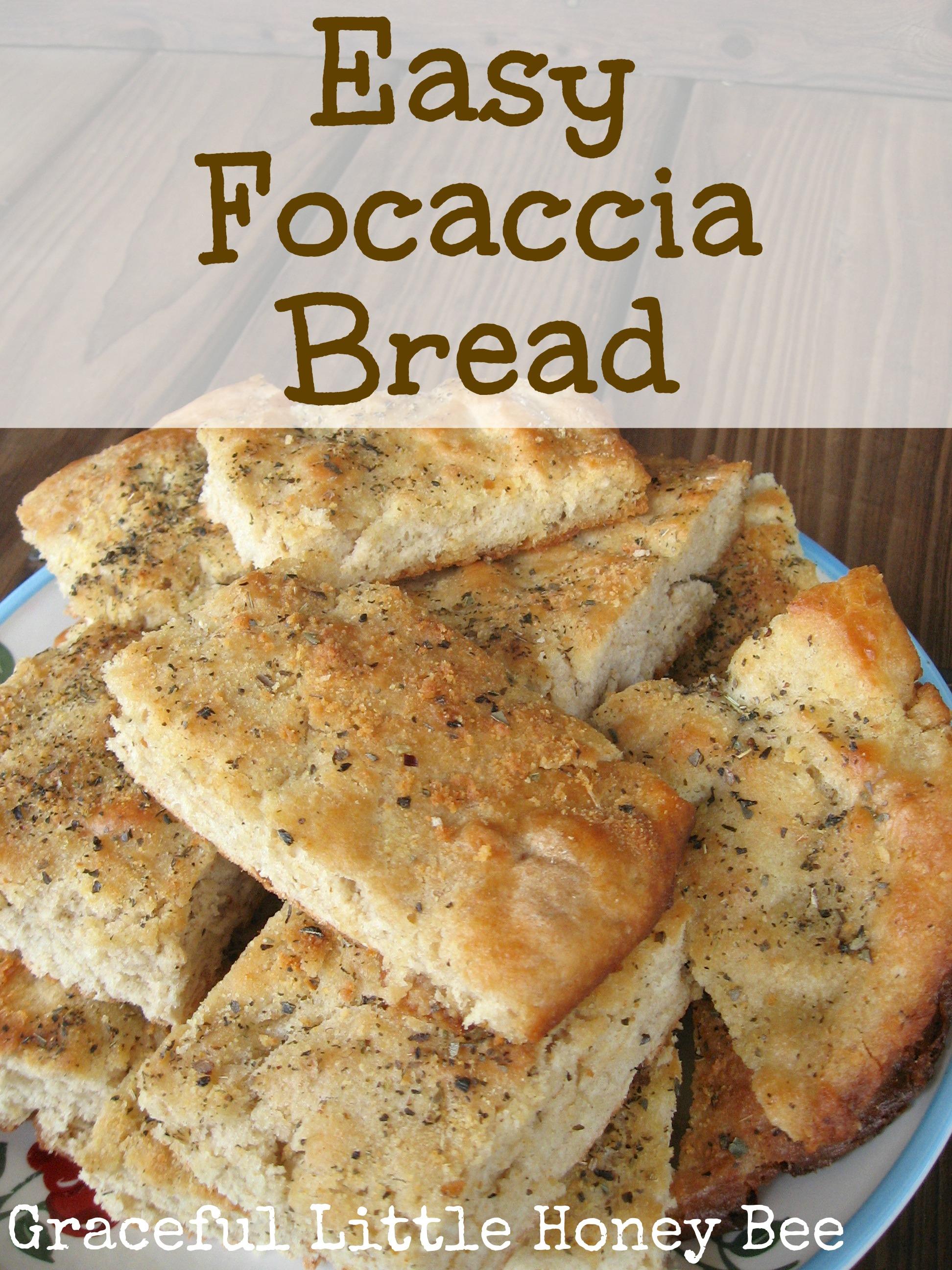 easy focaccia bread recipe by missy rakes on november 14 2014 6 ...