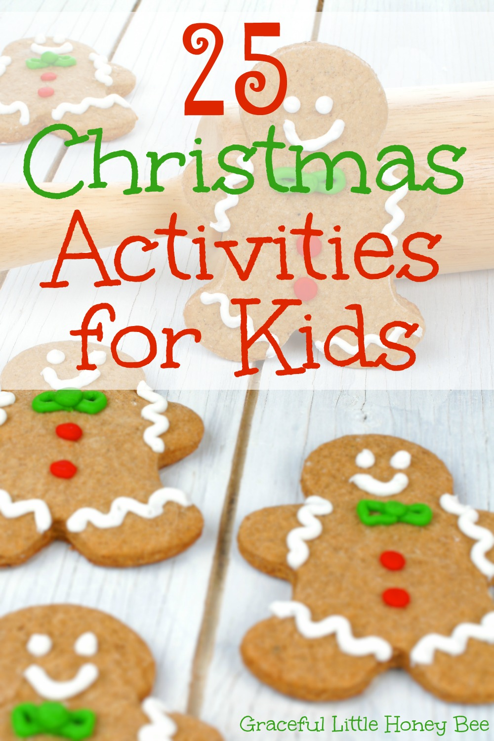 25 christmas activities for kids graceful little honey bee for Free christmas crafts for kids