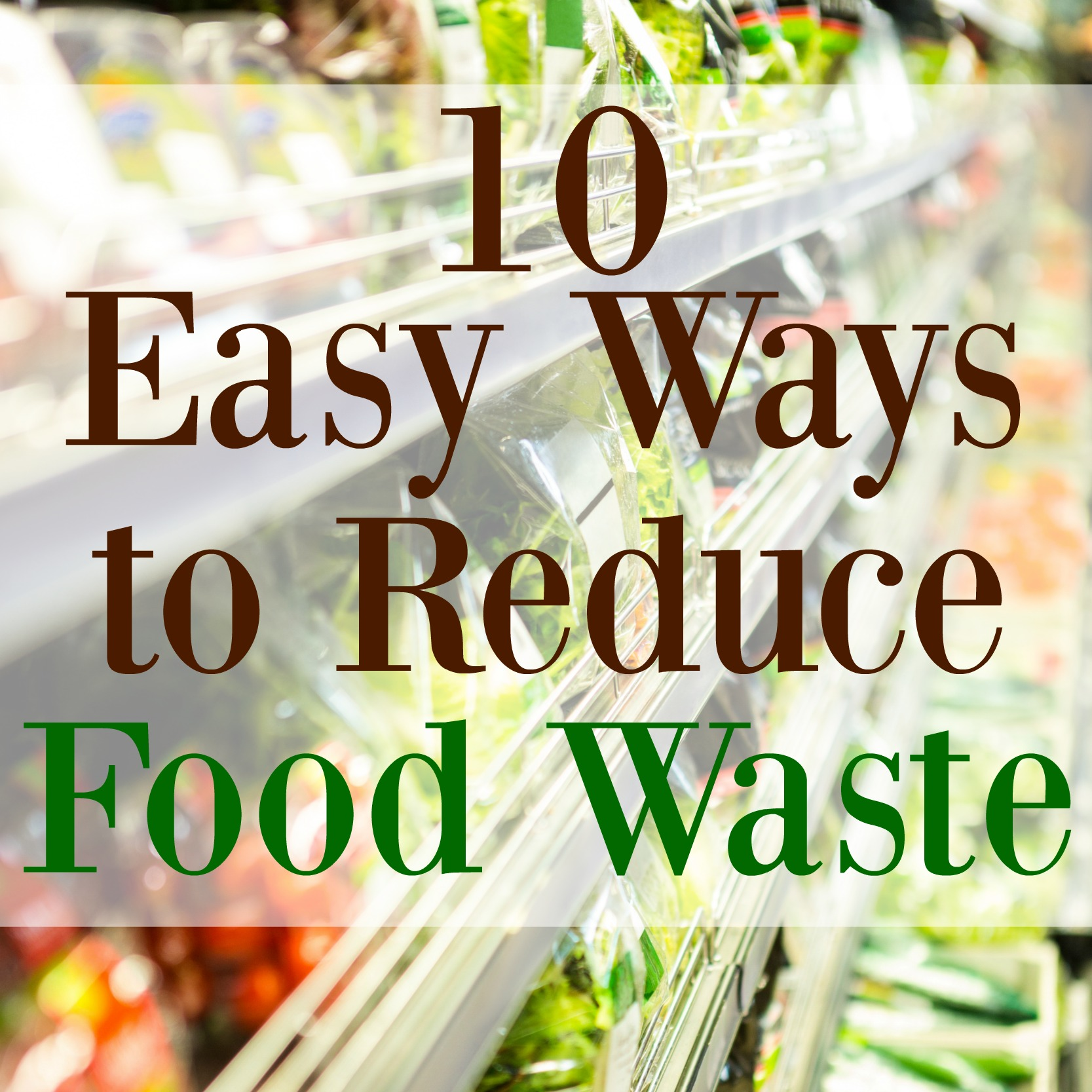 Recipes To Reduce Food Waste